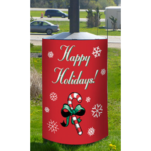 Holiday Wrap - Light Pole Guard